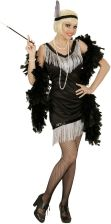 401efdcc4dd95a Strój Sukienka Retro Lata 20 Charleston Flapper XL