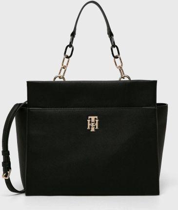 fff84676653e4 Podobne produkty do Pull & Bear Czarna torba shopper z przeszyciami