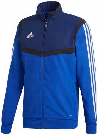 Bluza adidas essentials 3 stripes tricot tt czarna dq3070