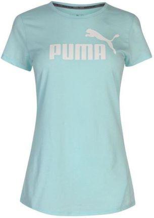 56144c6b897cc6 Puma Essence No 1, koszulka damska, zielona, Rozmiar L