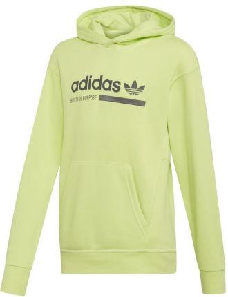 adidas Originals Bluza dziecięca 128 164 cm Bluzy rozpinane chłopięce Żółte w