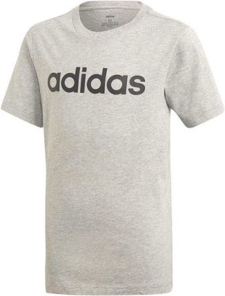 80759330a Koszulka młodzieżowa Essentials Linear Logo Adidas (medium grey heather)
