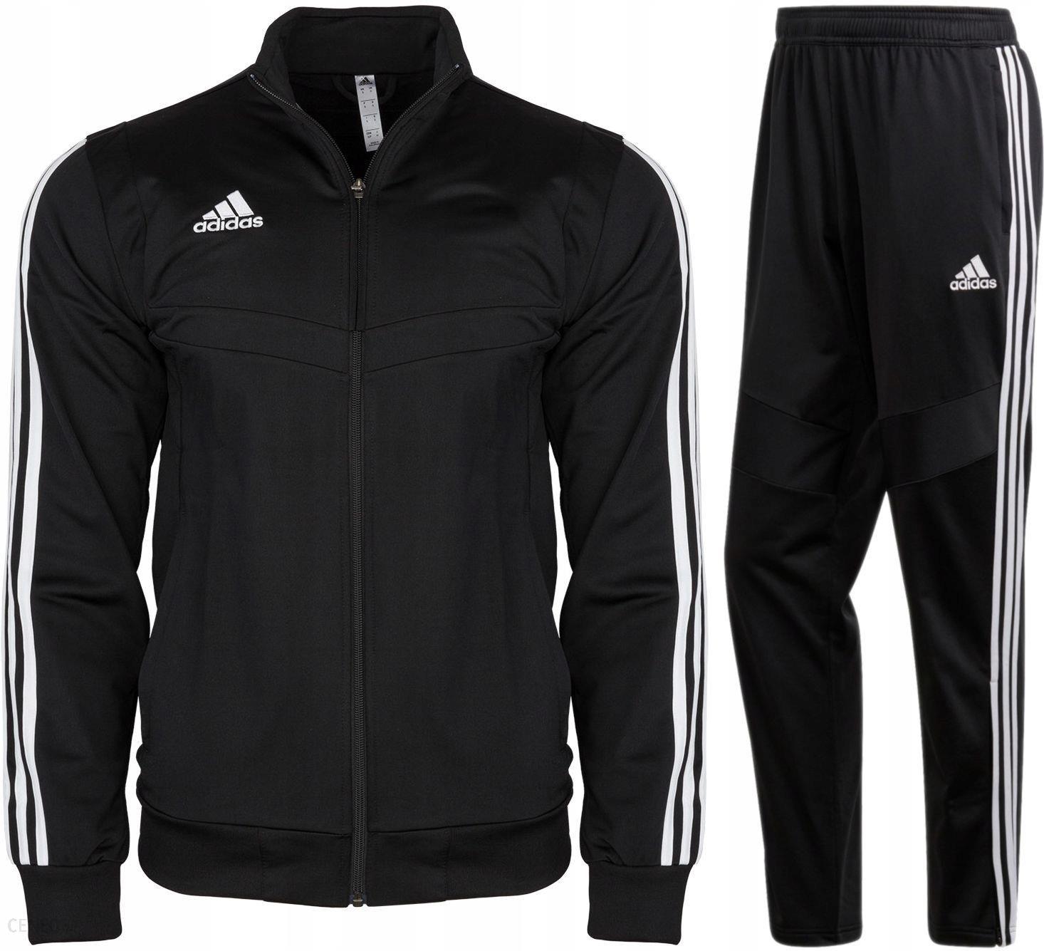 Komplet Dres Adidas Jr Spodnie Bluza Czarny 176 Ceny i opinie Ceneo.pl