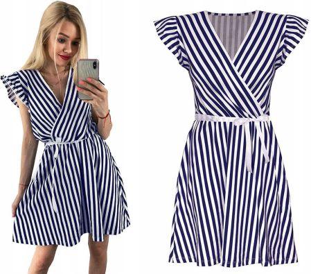 9caa8c28f3 Helly Hansen Thalia Suknia Kobiety niebieski biały XL Sukienki ...