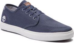 4d05a794c2a96 Tenisówki TIMBERLAND - Union Wharf Derby Sneaker TB0A1XCC432 Dark Blue  Canvas eobuwie. Trampki ...