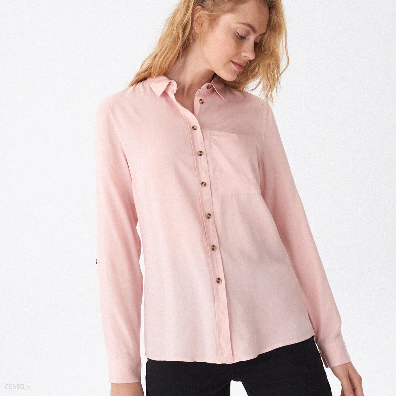 6b3cffa3b14c23 House - Koszula basic - Różowy - Ceny i opinie - Ceneo.pl