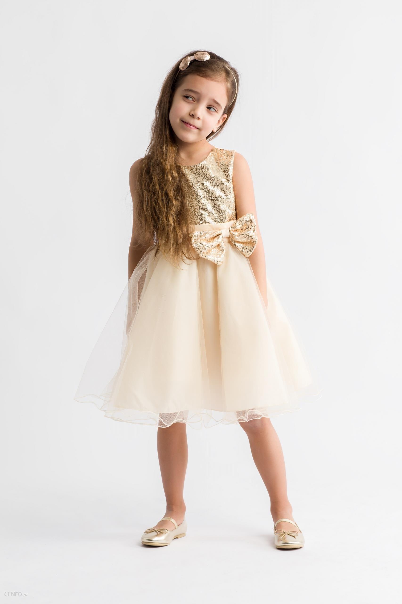 625c8fca Tiulowa sukienka wizytowa dla dziewczynek 104 - Ceny i opinie - Ceneo.pl