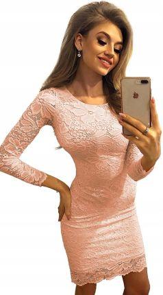 ba98907a80 Envy Me EM131 Elegancka sukienka z zakładanym dekoltem - Ceny i ...