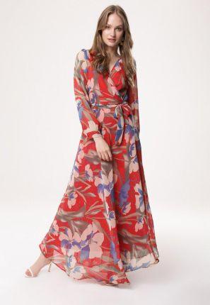 9a917c8464 Czerwone Sukienki Maxi wiosna 2019 - Ceneo.pl