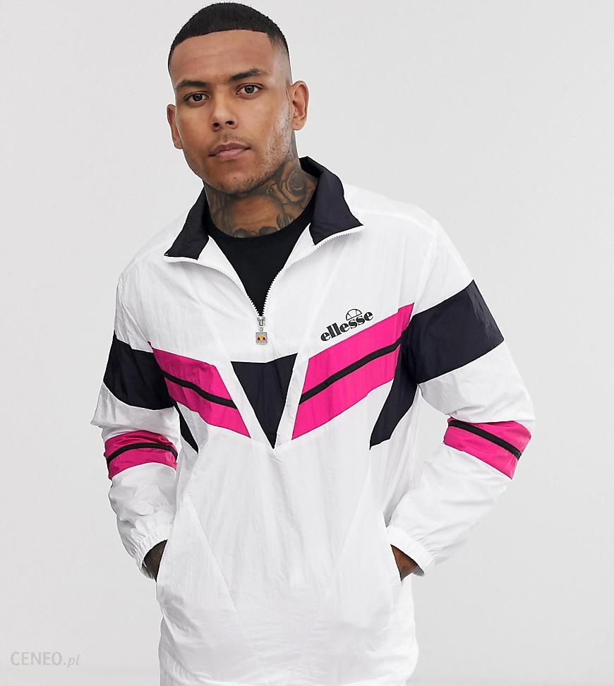 best service special section largest selection of 2019 Ellesse Luigi shell suit panel track top in white exclusive at ASOS - White  - Ceneo.pl