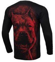 80547bbf4 Koszulka z długim rękawem Pit Bull Red Nose'19 - Czarna (239058.9000)