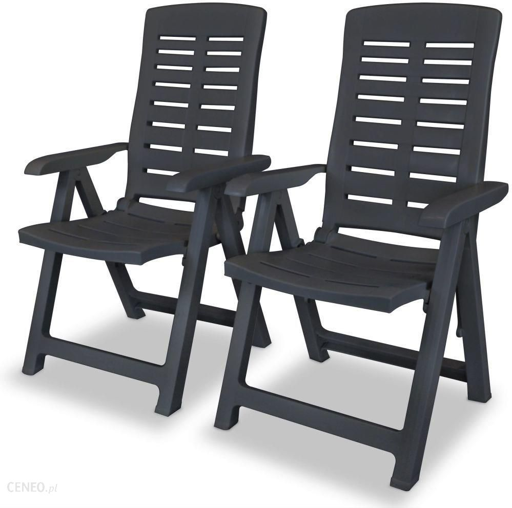 Krzeslo Ogrodowe Vidaxl Rozkladane Krzeslo Ogrodowe Plastik