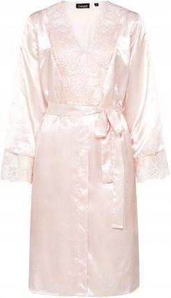4546abff5cfea0 Dn-nightwear SWB.9105 Nocna szlafrok - grey melange - Ceny i opinie ...