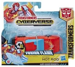 Hasbro Figurka Transformers Cyberverse 1-Step Changer Hot Rod E3522/E3644