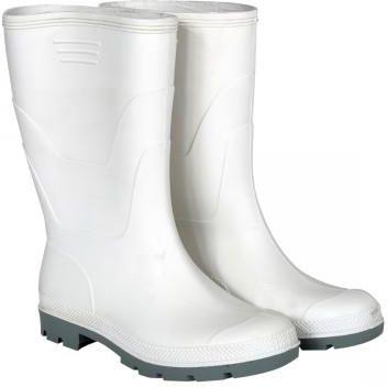 f74d763b6e9f5 Kalosze białe krótkie gumowce bez podnoskaNR39 ...