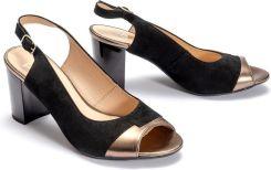 ddfe5329 MARCO SHOES 1161P-041-559-1 czarny, sandały damskie