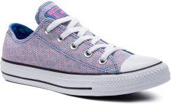 ff40435d6458a Trampki CONVERSE - Ctas Ox 164417C Totally Blue/Racer Pink/White eobuwie