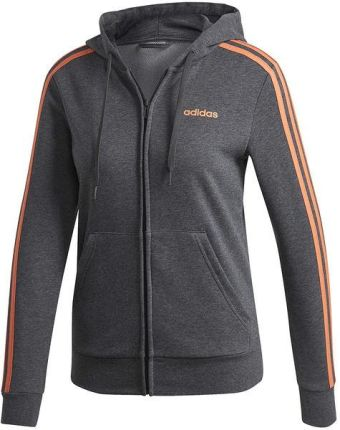 140620b72 Bluza damska Essentials 3-Stripes Full-Zip Adidas (szary melanż)