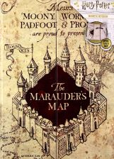 Harry Potter: Mauraders Map Notebook Notes A5