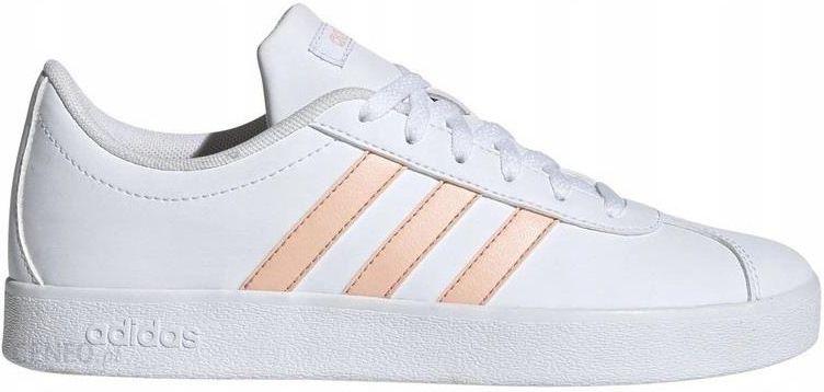 36 23 Buty Adidas VL Court EE6901 Damskie Białe Ceny i opinie Ceneo.pl