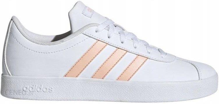40 Buty Adidas VL Court EE6901 Damskie Białe Ceny i opinie Ceneo.pl