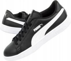 Sneakersy PUMA Smash V2 Buck 365160 13 High Risk RedBlackWhite