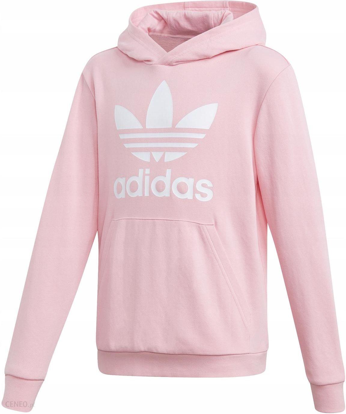 140 Bluza Dziecięce Adidas Trefoil DV2877 Różowa Ceny i opinie Ceneo.pl
