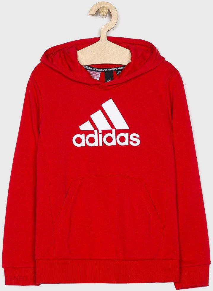 adidas Performance Bluza dziecięca 140 176 cm Bluzy chłopięce czerwone w