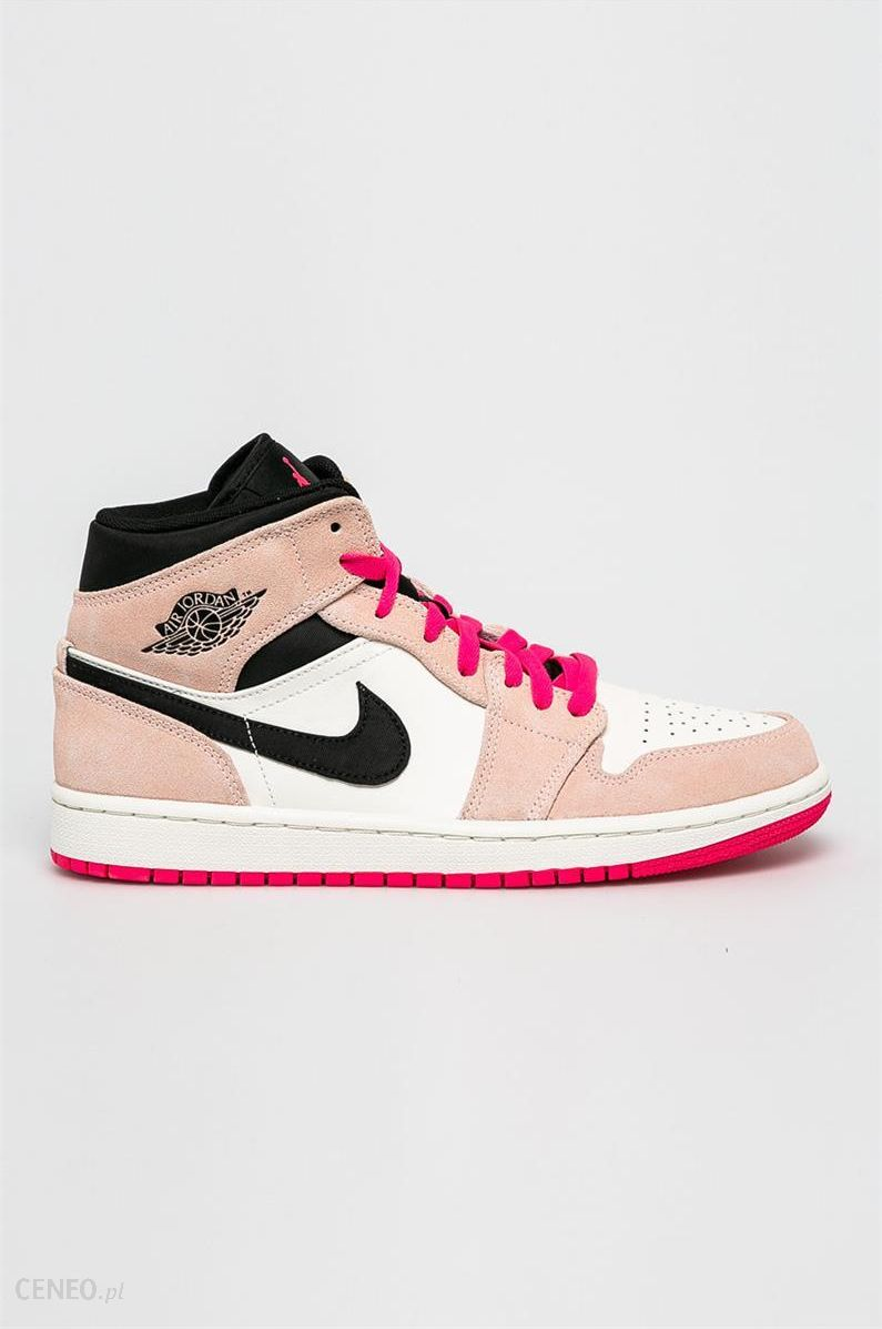 Nike Buty Air Jordan 1 Mid Se Buty męskie różowe w