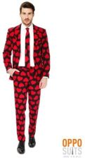 Opposuits Opposuit King Of Hearts Suit for Men (OSOSUI006848) - zdjęcie 1