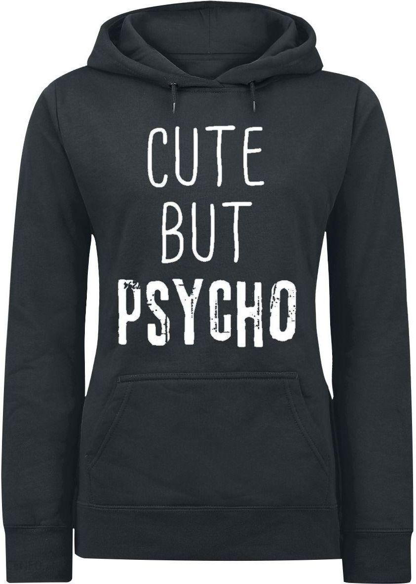 czarna.bluza z kotem i.napisem hey cutie