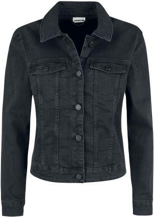 ce73eab0 Noisy May - Debra Black Wash Denim Jacket - Kurtka jeansowa - Kobiety -  czarny ...