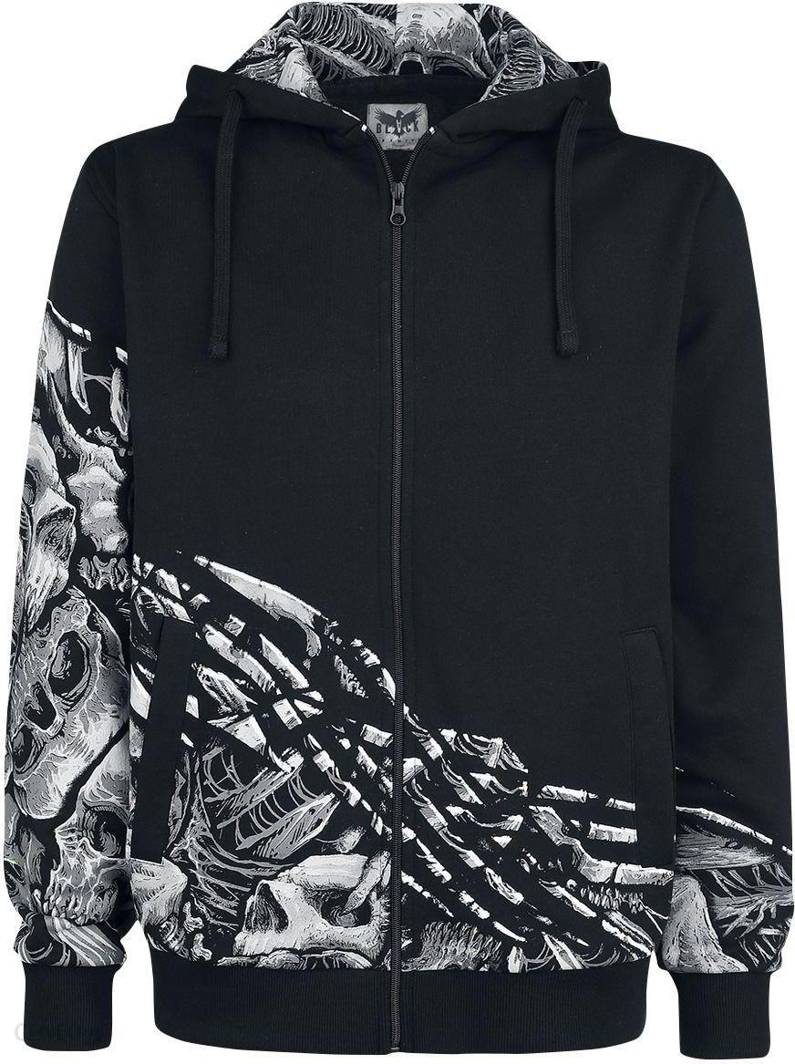 Black Premium by EMP Mask Of Sanity Bluza z kapturem rozpinana Mężczyźni czarny