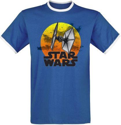 076e1a3bf Star Wars - TIE Fighter - 77 - T-Shirt - Mężczyźni - niebieski/ ...