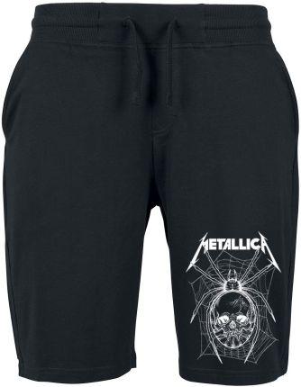 214d9677158e3d Metallica - Spider Skull - Krótkie spodenki - Mężczyźni - czarny ...