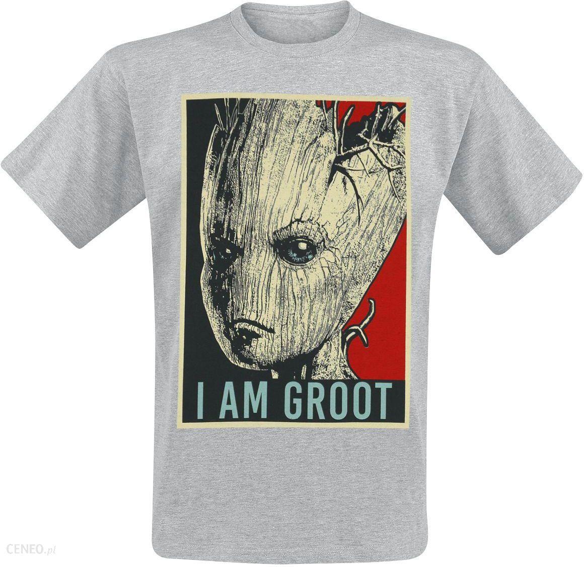 c886c2c69 Guardians Of The Galaxy - I Am Groot - T-Shirt - Mężczyźni - odcienie