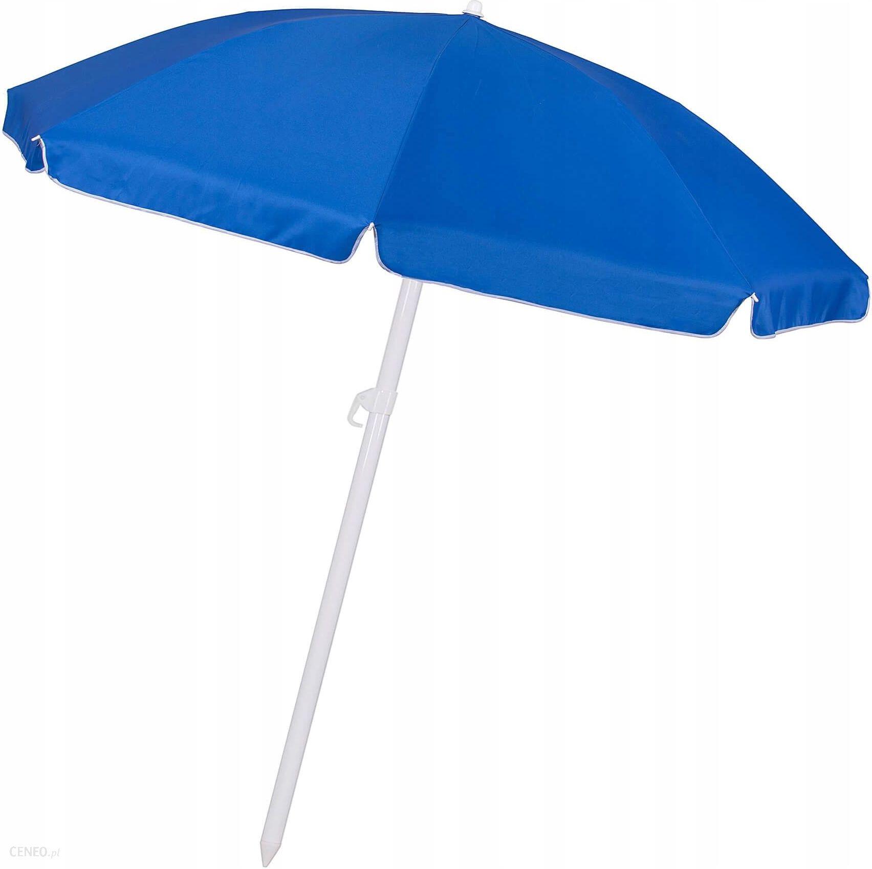 Parasol Ogrodowy Springos Parasol Plazowy Niebieski 240 Cm Bu0003 Ceny I Opinie Ceneo Pl