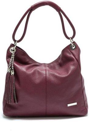 4ccd044245880 Czarno-biała skórzana torebka Pitti Bags Latina - Ceny i opinie ...