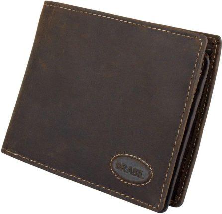 0e1a4e21a050c Skórzany portfel męski , mały portfel męski z zapinką - Ceny i ...