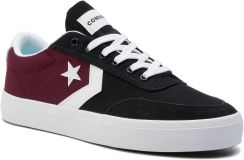 a1f596de01395 Sneakersy CONVERSE - Courtlandt Ox 164060C Dark Burgundy/Black/White eobuwie