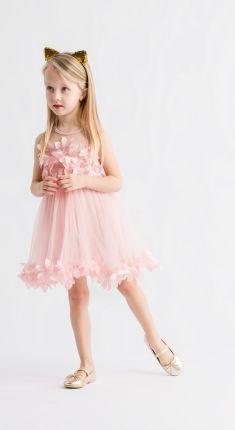 00272f8d4b83f2 Mango Kids - Sukienka dziecięca Enriketa 80-104 cm - Ceny i opinie ...