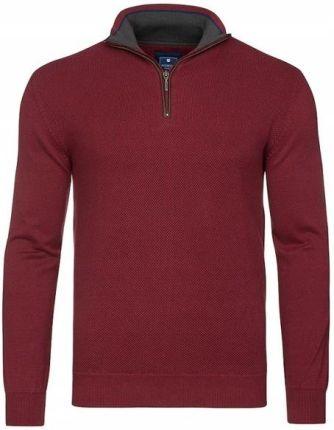 Bluza dresowa kieszeń kangurka czerwona 950B L Ceny i