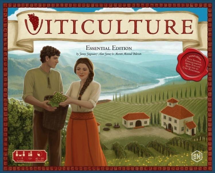 Gra planszowa Viticulture: Essential Edition
