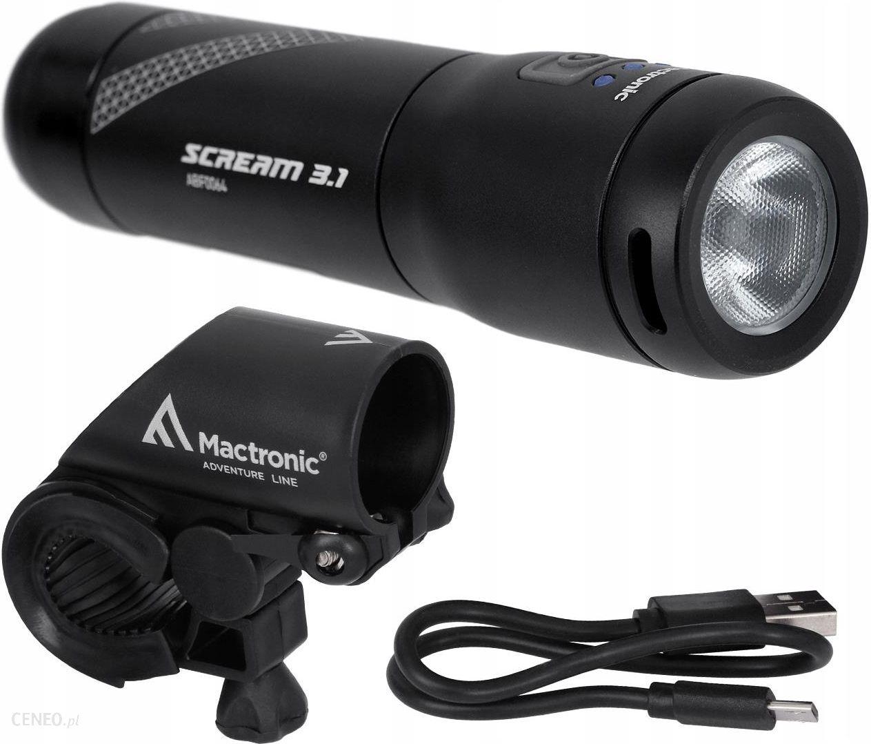 Mactronic Scream 3.1 Lampa Rowerowa Przednia 900 Lm Abf0064