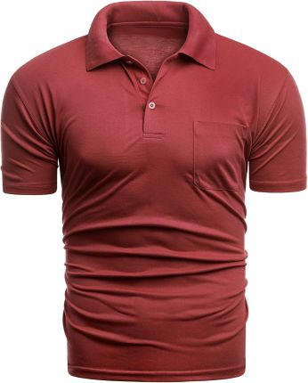 f1ea12ff6 Czerwone T-shirty i koszulki męskie - Polo - Ceneo.pl