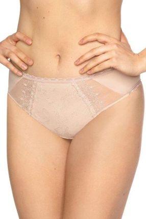 3f11c48a0bf533 Calvin Klein pudrowe stringi Thong Modern Cotton Plus z szeroką gumą ...