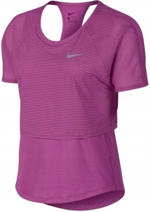 6eafe63b1 Koszulka damska Nike Top Ss 10K Breathe AV2037-623 Allegro