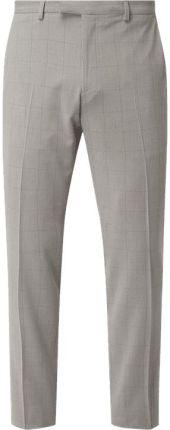 d6adcdab671e9 MCNEAL Spodnie do garnituru o kroju slim fit z dodatkiem streczu ...