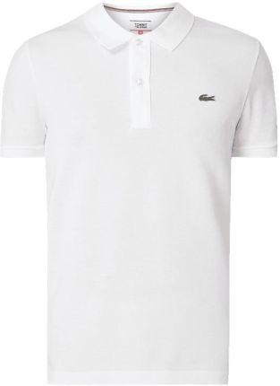 b2d36d056 Lacoste Koszulka polo o kroju slim fit z naszywką z logo ...