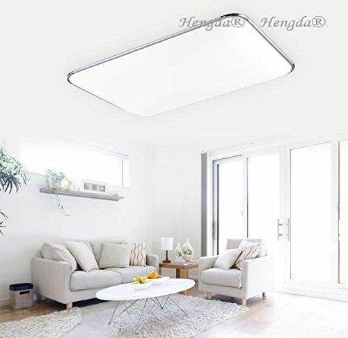 Amazon Hengda Lampa Sufitowa 96w Led Do Kuchni łazienki Pokoju Dziennego Panel Oświetleniowy Energooszczędny Ceneopl